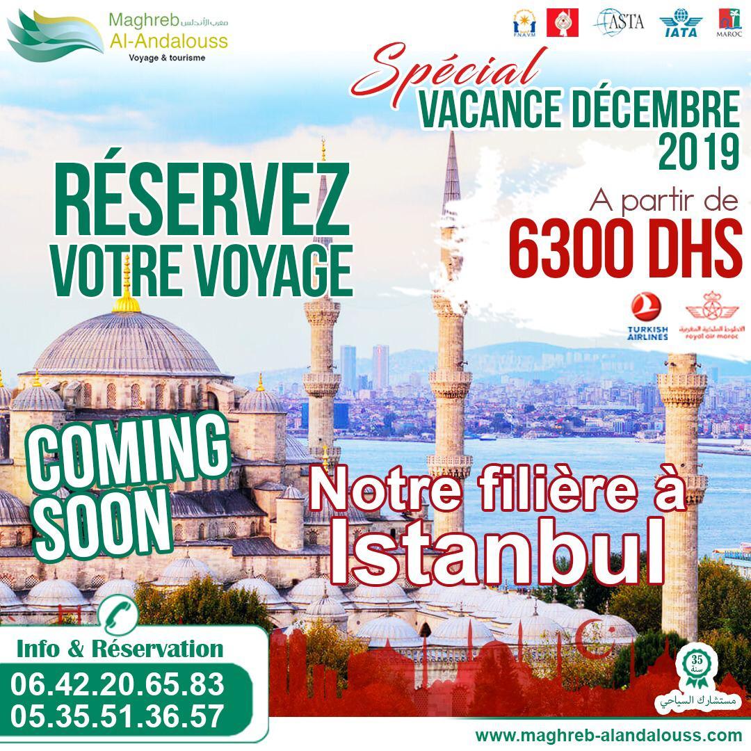 Réservez votre voyage à Istanbul